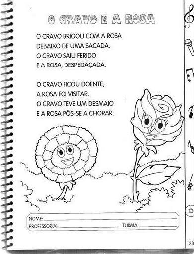 Atividades De Musica Na Educacao Infantil Para Imprimir Musica