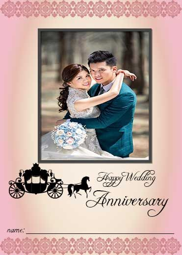 Wedding Anniversary Card With Name And Photo Edit In 2020 Wedding Anniversary Cards Photo Wedding Card Wedding Anniversary Wishes