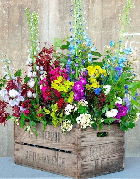 Creative Spring Garden Pots And Planters Container Flowers Diy Planters Outdoor Wooden Flower Boxes