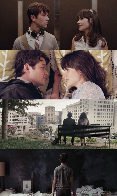500 days of summer. sometimes when everything seems perfect... it still just doesn't feel right.