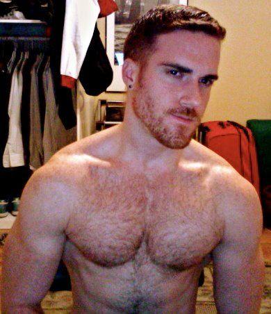Redhead hairy public