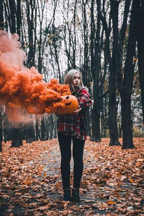Halloween Pull Ring Smoke Bombs [4 Pack]