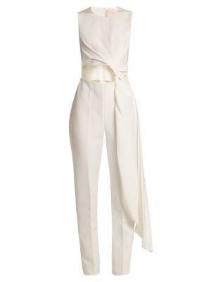 c765f34b10a1 Thurloe cut-out knot-front crepe jumpsuit