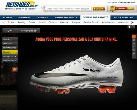 Personalização de chuteiras Nike: seu futebol com a sua cara