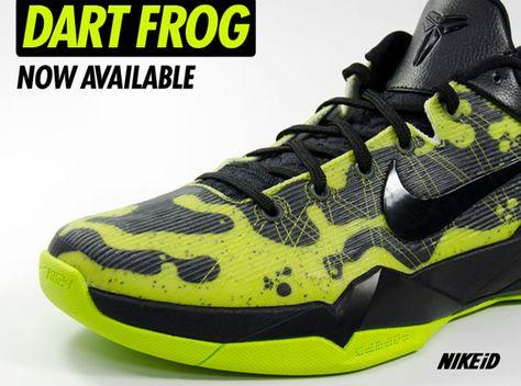 d4ebffa150b Nike Zoom Kobe VII iD - Poison Dart Frog Options