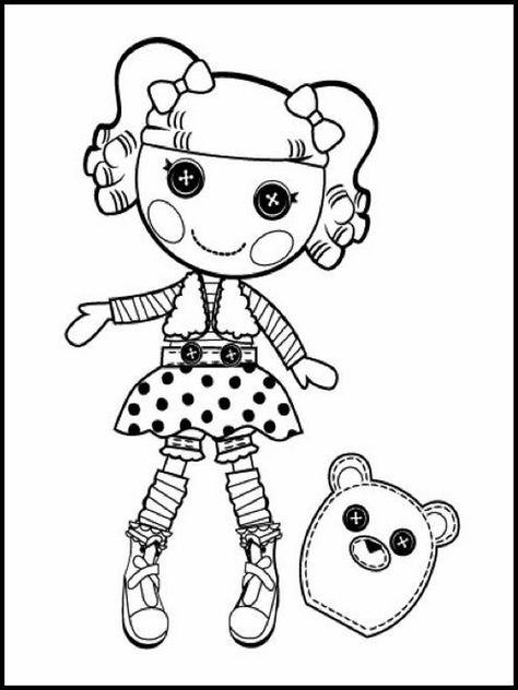 coloriage dessins à imprimer pour les enfants lalaloopsy