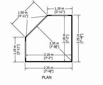 Image Result For Free Corner Shed Plans Workshedplans Corner Sheds Shed Plans Build A Playhouse