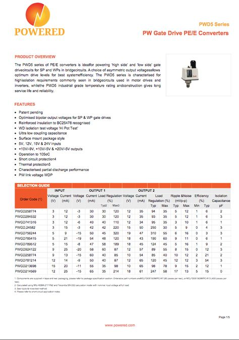 Optical Components Datasheet Template Create colourful data sheets - product spec sheet template