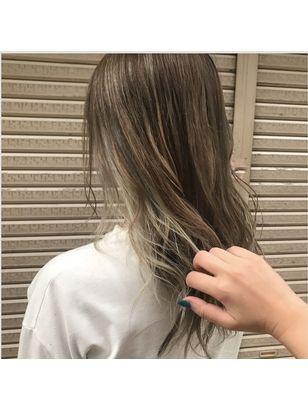2020年冬 ロング インナーカラーの髪型 ヘアアレンジ 人気順 25