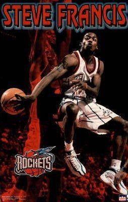 8e18505a3ec5 Details about VTG (L14-16) Houston Rockets Steve Francis  3 Champion NBA  Basketball NASA Point