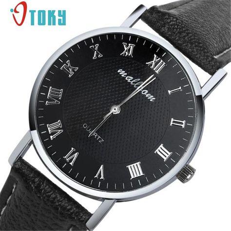d46d3b0f04e OTOKY Mens Watches Luxury Quartz Watch Men Clock Male Wrist Watch Quartz-watch  Relogio Masculino Gift 1pc