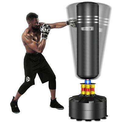 5 7ft Free Standing Boxing Punch Bag Stand Mma Kick Martial Art Training Freestanding Punching Bag Kickboxing Bag Punching Bag Stand