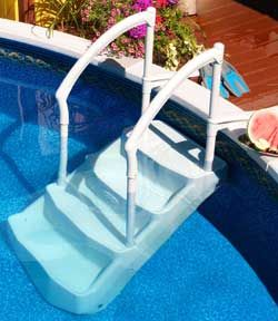 Above Ground Pool Step And Ladder Liner Pads Above Ground Pool Steps Pool Steps In Ground Pools