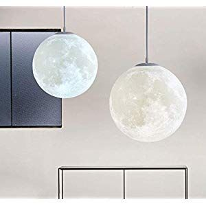 3d Mond Lampe Nordic Einfachheit Kreative Spharische Deckenleuchte Kinderzimmer Lampe Mond Kronleuchter Restaurant Gang Balk Decor Ceiling Lights Pendant Light