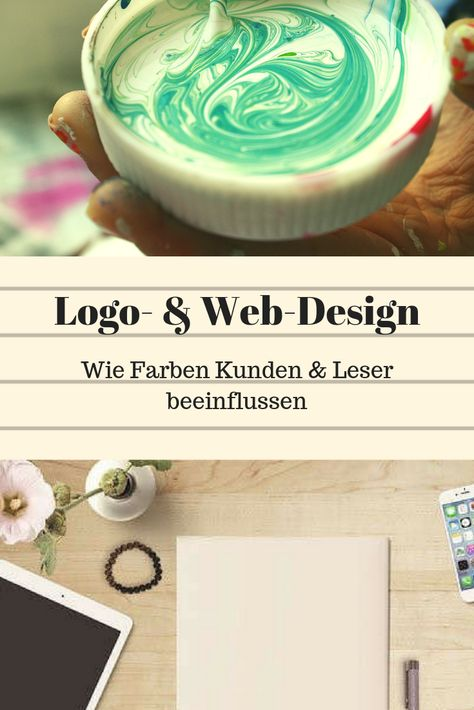 Logo- & Web-Design – wie Farbe & Form deine Kunden beeinflussen    LÖWEN-Text