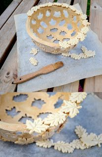Salt dough basket