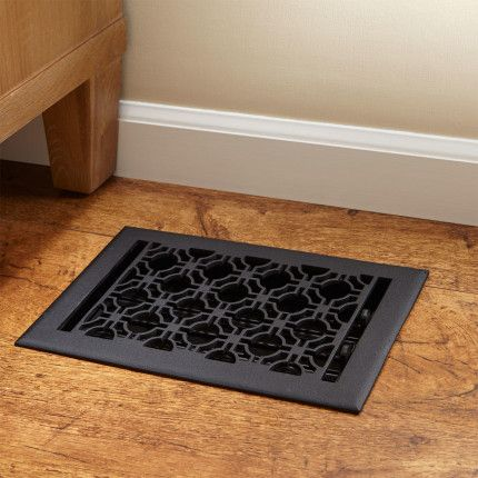 Geometric Cast Iron Floor Register Flooring Cast Iron Hardware