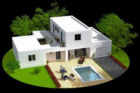 Plan Maison Moderne 3d Inspirant 25 Lovely Gallery Plan 3 D