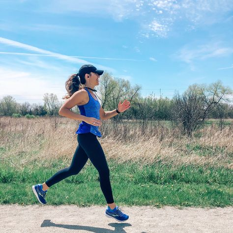 My everyday running gear checklist: Brooks running shoes, Garmin watch, Bluetooth headphones, and Lululemon leggings. Click on the picture to shop my running gear! #running #runningtips #runningforbeginners #brooksrunningshoes #garmin