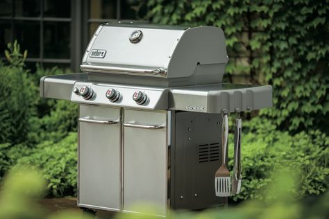 Grills Gas Weber S310 Benson Stone Gas Grilling Stone