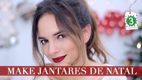 Maquilhagem Fácil Para Jantares de Natal | A Maria Vaidosa