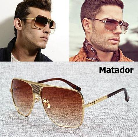 99d518f60f2 Iron Man Designer Sunglasses for Men Luxury Mirror Sunglasses for Women  Vintage