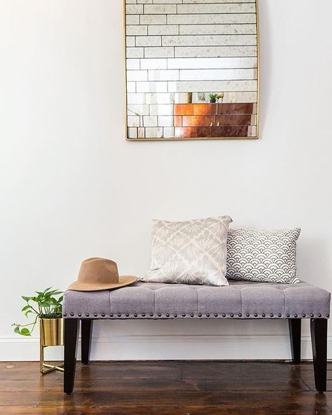 Simple switches can energize any entryway! Shop similar items via the link in bio. #WayfairAtHome @brentwoodbuilders