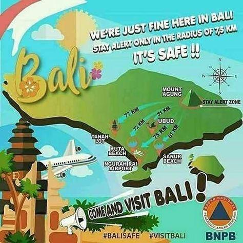 sunrise Bali is safe . . #bali...