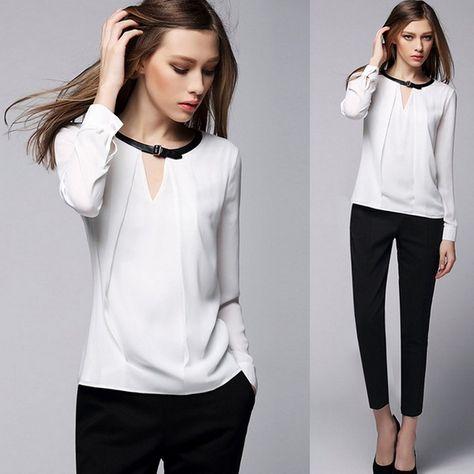 e198741e367 Модные блузки 2018-2019 года