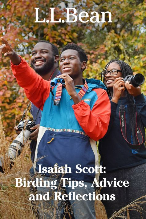 #LLBeanPartner, ornithologist and birding guide Isaiah Scott (Instagram's @ikesbirdinghikes) shares some of his insights from years of birding – including tips for finding birding spots, his go-to equipment and more. Read now: