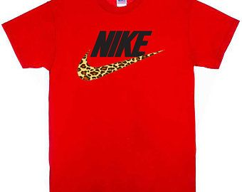 red leopard nike