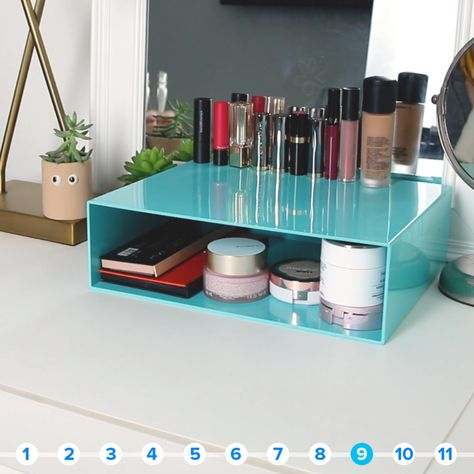 11 Creative Ways To Use Magazine Holders In Every Room Of The House #hacks #kitchen #organization #space #toys #desk #bathroom #garden