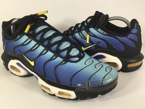 eBay Sponsored) Nike Air Max Plus Hyper Blue Yellow Black