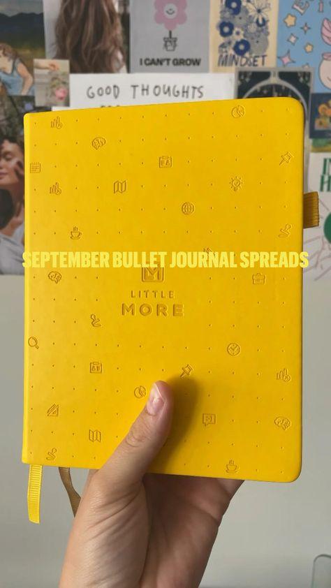 SEPTEMBER BULLET JOURNAL SPREADS