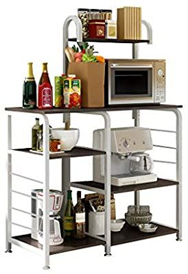 Amazon Com N Y Kitchen Shelf Multifunctional Kitchen Rack Microwave Oven Floor Shelf Storage Sto Microwave Stand Spice Rack Organiser Kitchen Storage Shelves