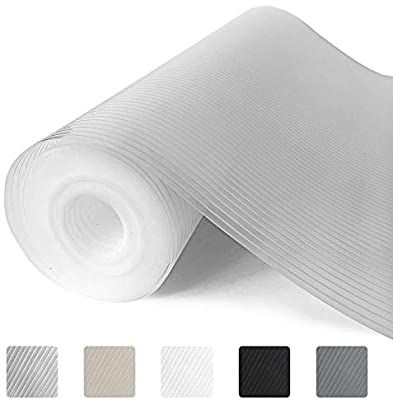 Amazon Com Gorilla Grip Ribbed Top Drawer And Shelf Liner Non Adhesive Roll 12 Inch X 20 Ft Durable And In 2020 Drawer And Shelf Liners Shelf Liner Kitchen Liners