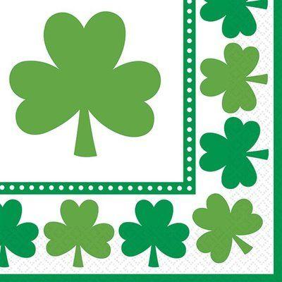 St Patricks Day Fancy-Fetti Shamrock Confetti