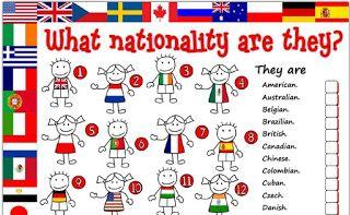 Caca Paises E Nacionalidades Ingles 6ºano Caca Palavras Em