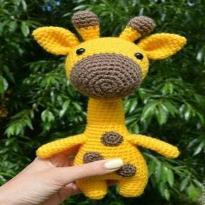 Jirafa Amigurumi Patron gratis! | Crochet baby, Knitted toys ... | 290x290