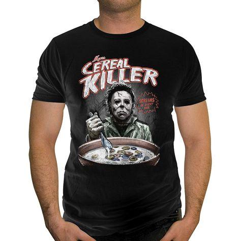 Mens Michael Myers Halloween Graphic T-Shirt