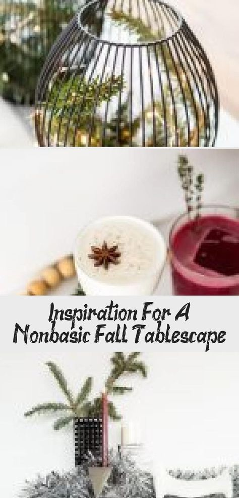 Fall holiday and alternative Thanksgiving decor ideas that go beyond the traditi...,  #Alternative #decor #Fall #holiday #holidaylogo #Ideas #Thanksgiving #traditi