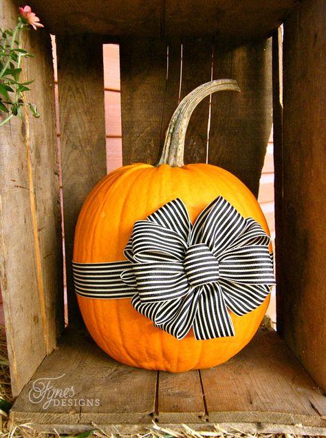 Ribbon BowPumpkin