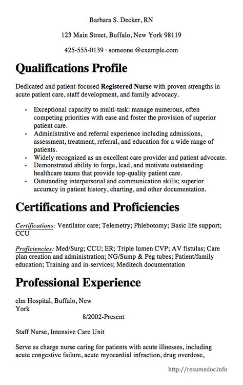 ... Here Is The Free Nursing Resume Sample, You Can Preview It Here Or    Maine ...  Nurse Sample Resume