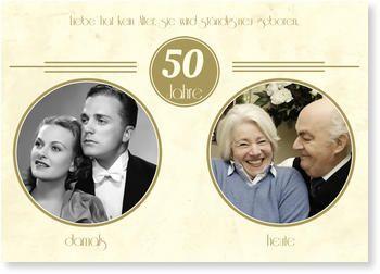 H1einladungskarten Goldenen Hochzeit Goldene Zeitenh1