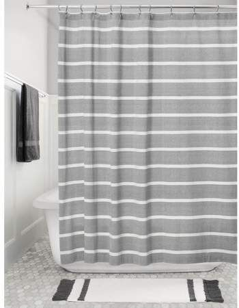 Home Fabric Shower Curtains Gray Shower Curtains Restroom Decor
