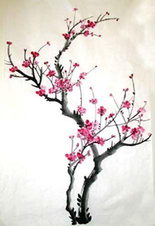 Plum Blossom Chinese Art Google Search Art Blossom Chinese Google Plum Search Cherry Blossom Art Blossoms Art Cherry Blossom Painting