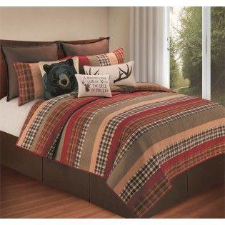 Hillside Haven Quilt Rustic Bedding Rustic Bedding Sets Rustic Quilts