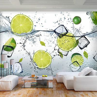 Fototapeten Tapete Fototapete Vlies Küche Obst Wandbild XXL 3D Effekt Wohnzimmer