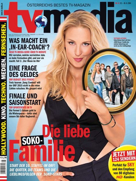 TV-MEDIA ePaper Nr. 48    22. - 28. 11. 2014 edition - Read the digital edition by Magzter on your iPad, iPhone, Android, Tablet Devices, Windows 8, PC, Mac and the Web.