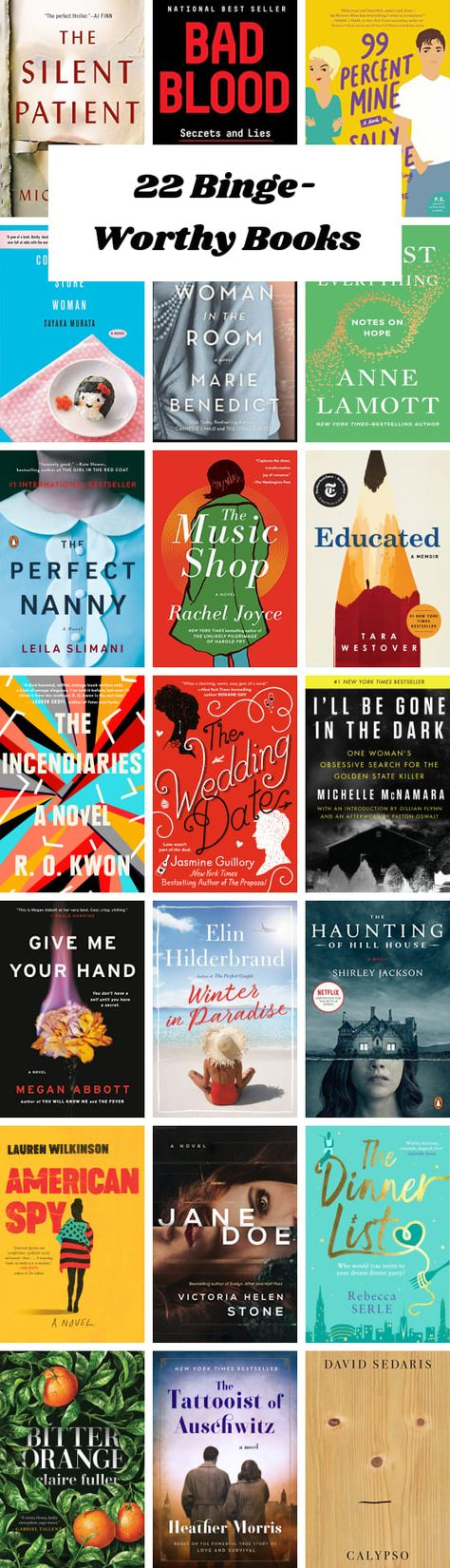 22 Binge-Worthy Books